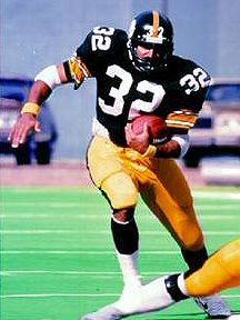Franco Harris -  former American football player. He played his NFL career with the Pittsburgh Steelers and Seattle Seahawks