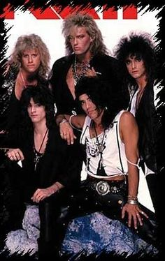 My favorite band without question...RATT.