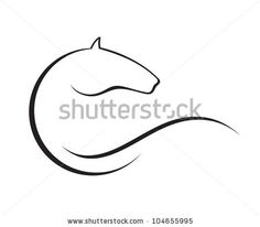 stock vector : Horse symbol vector