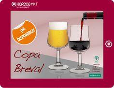 Presentación de la Copa Breval, ideal para disfrutar de un vino o una cerveza en tu bar.