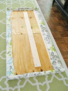 Young House Love | How To Make An Upholstered Headboard, Part 2