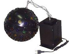 Bola Multi Raio, 96 Lentes, 6 RPM + Lâmpada 300W: R$ 399. Marca Luz de Prata com 30cm de diâmetro. Comprar em http://www.aririu.com.br/bola-de-luz-multi-raio-96-lentes-rpm-lampada-jc-300w_28xJM