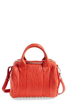 Alexander Wang 'Rockie - Dumbo Nickel' Leather Crossbody Satchel available at #Nordstrom
