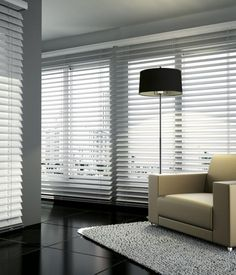 When you upgrade window treatments, the old blinds don't have to go straight to the trash! Here are 12 ways to use old mini blinds around the house. Window Coverings, Window Treatments, Vinyl Blinds, Blinde, Faux Wood Blinds, Blinds For Windows, Wood Colors, Pergola, House Design