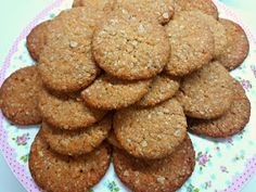 Greek Recipes, Desert Recipes, Baby Food Recipes, Cookie Recipes, Healthy Sweets, Healthy Snacks, Sweet And Salty, Easy Cooking, Cupcake Cakes