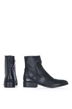 KLASH Leather Sock Boots