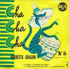 Orquesta Aragon - Cha Cha Cha Nº 5 (Vinyl) at Discogs Vinyl Record Art, Vinyl Music, Lp Vinyl, Vinyl Records, Fajardo, Lp Cover, Cover Art, Cuban Culture, Album Cover Design