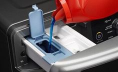 How (and Why) to Use High-Efficiency (HE) Detergent in Your Washing Machine Maytag Washing Machine, House Chores, Laundry Hacks, Laundry Detergent, Washer, Household, Stains, Cleaning, Trivia