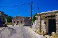 An Authentic greek village in Zakínthos. Tha village name is Volimes Olympus, Greece, Greece Country