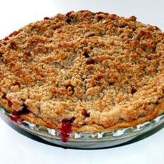 Strawberry Rhubarb Pie III food-and-drink