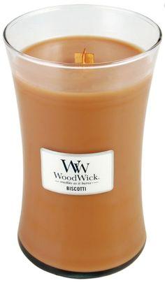 Woodwick-Biscotti Large Candle 21.5oz