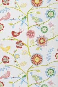 This is for Heather - cute kids wallpaper. Would also be a cute fabric print
