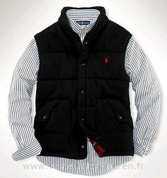 4c5157a2d4 Polo officiel - Ralph Lauren 2013 veste sans manches populaire hommes polo  beau noir Doudoune Ralph Lauren Sans Manche Homme