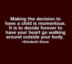 Making the decision to have a child