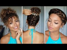 3B Curly Hairstyles Fair 3 Super Easy Hairstyles For 3B3C Curly Hair  Bella Kurls