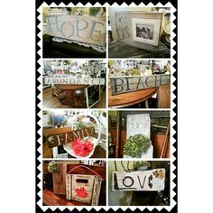 """See 11 photos and 1 tip from 3 visitors to Country Chic Vintage Boutique. """"Rated on Trip Advisor in Bowmanville! Reclaimed Wood Signs, Chic Shop, Vintage Boutique, Country Chic, Four Square, Trip Advisor, Home Decor, Decoration Home, Room Decor"""