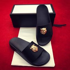 eae7c810ed33d1 Gucci man shoes summer casual slippers slides sandals