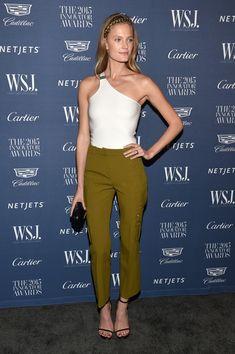 Model Constance Jablonski attends the WSJ. Magazine 2015 Innovator Awards at the Museum of Modern Art on November 4, 2015 in New York City.