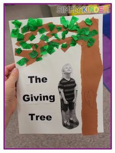 The Giving Tree Project----So cute and simple to do.