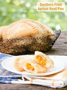 Southern Fried Apricot Hand Pies. Make them to pack for a picnic, lunch, or a fruity dessert on the go.