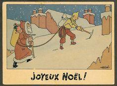 Joyeux Noël de Tintin