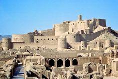 A view of the Arg-e Bam Citadel