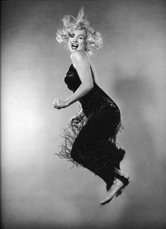 "Marilyn Monroe by Philippe Halsman ""Jumpology"", 1959."