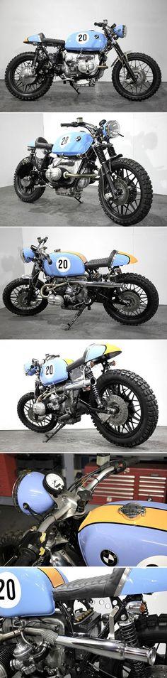 Scrambler 1000cc Le Mans par Speed Shop Kevils