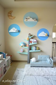Kids Playroom: Reading Nook — a play on CHIC - Kids Playroom: Reading Nook . - Kids Playroom: Reading Nook — a play on CHIC – Kids Playroom: Reading Nook – - Creative Decor, Creative Kids, Reading Corner Kids, Reading Corners, Girl Reading, Kids Bedroom, Bedroom Decor, Comfortable Pillows, Girl Room