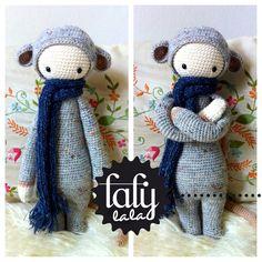 "Crochet Pattern Doll ""RADA the rat"" vu chez Tournicote"