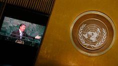 De noticia histórica a un manicomio: el segundo día de la Asamblea General de la ONU