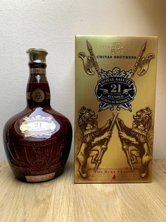 Catawiki online auction house: Chivas Regal 21 years old Royal Salute Ruby Flagon - 70cl