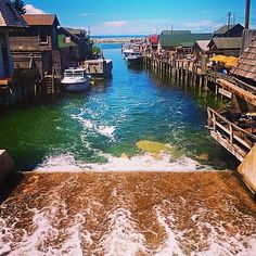 Eat Your Way Through Western MI. This view from #Fishtown in #Leland never gets old! #PureMichigan