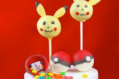 How to Make Candy Pokemon Pokeballs • CakeJournal.com