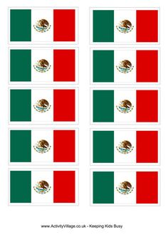 flag day mexico 2015