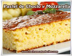 Pastel de choclo y mozzarella