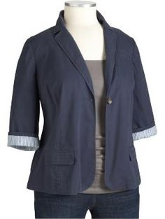 Gotta love a fitted jacket, for sure need one of those for school :D