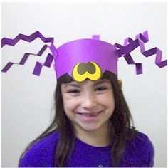 """I used to make hats all the time when I taught K/1. I would make it more educational by having them write spider facts or a list of words that begin with """"SP"""" on the body. :) Jodi from the Clutter-Free Classroom"""