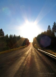 Driving into the Light