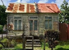 Original Chattel house in Barbados