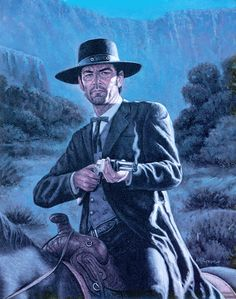 Cover art Western Comics, West Art, Cowboy Art, Weird Science, People In Need, Le Far West, Pulp Art, Old West, Cover Art
