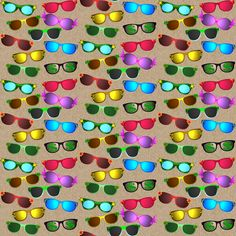 sunglasses fabric by krs_expressions on Spoonflower - custom fabric