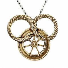 The Wheel of Time Kaulakoru e Ajanpyörä ikuisuuden käärmeellä. Washer Necklace, Pendant Necklace, Fantasy Art, Hermes, Bronze, Jewelry, Fantasy, Jordan Spieth, Jewlery