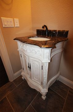 Vanity in Guest Bathroom