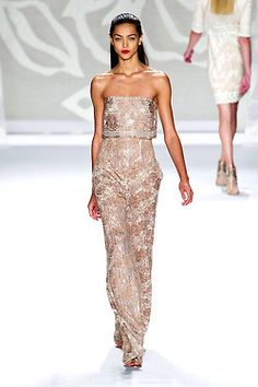 Monique Lhuillier - Spring/Summer '14