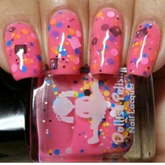 """""""Tainted Love"""" from the all new """"THAT'S SO 80's"""" collection. Available at dollishpolish.com #dollishpolish #indiepolish"""