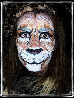 maquillaje artístico animales