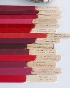 Pretty Chalk Paint® decorative paint by Annie Sloan colors and mixes by artist Suzonne Stirling