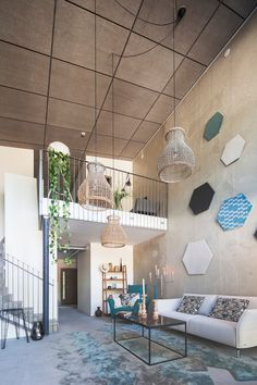 Loft by EKE – kehys johon rakentaa tila Dining Table, Loft, Ceiling Lights, House, Furniture, Design, Home Decor, Ideas, Decoration Home