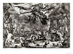 Jacques Callot - Jacques Callot (1592-1635) created the above etching - The Temptation of St Anthony - in the last year of his life.